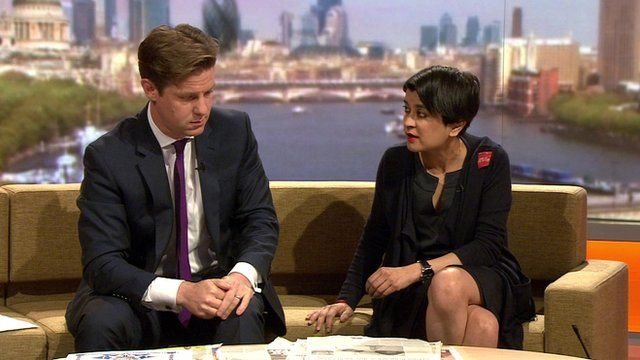 Shami Chakrabarti and Fraser Nelson on The Marr Show