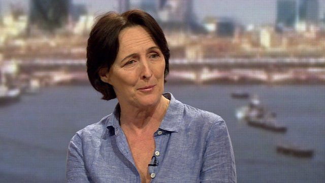 fiona shaw girlfriend
