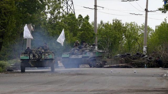 Ukraine soldiers killed in renewed Sloviansk fighting