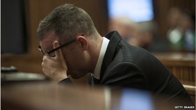 Oscar Pistorius in court on May 5 2014