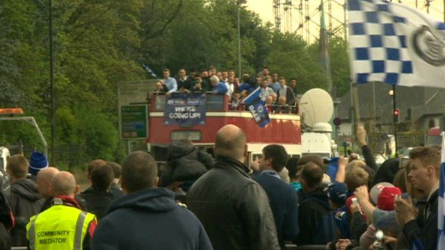 Rochdale promotion parade