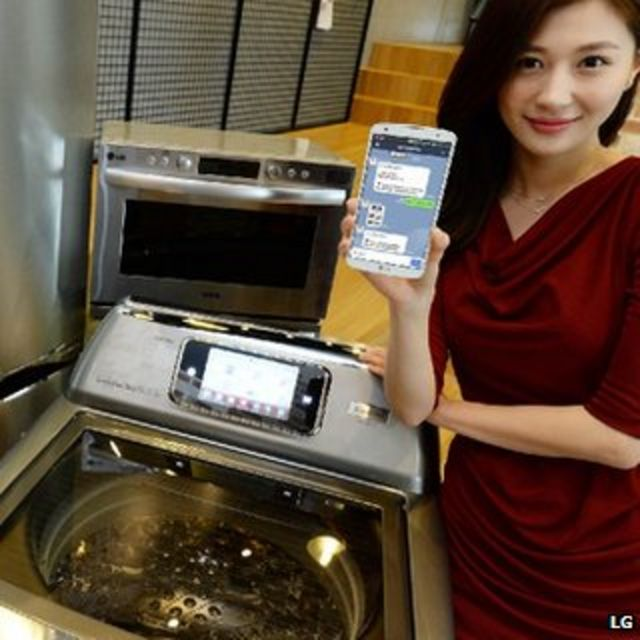 LG launches fridges, washers and cookers that chat