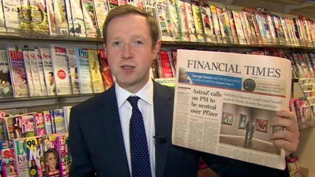 Adam Fleming with Financial Times