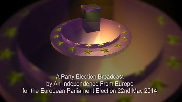 An Independence from Europe party broadcast for the 2014 European Parliament elections