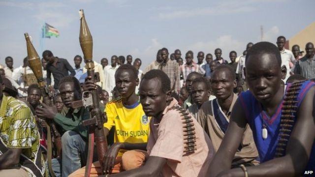 South Sudan's Kiir and Machar meet in Ethiopia