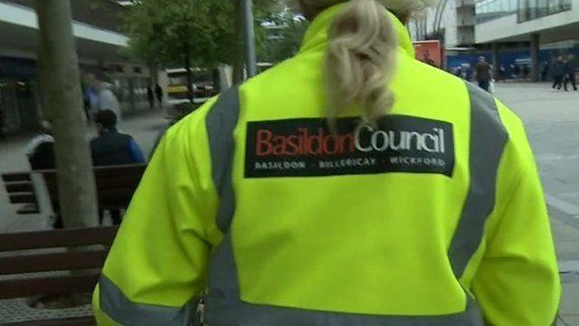 Basildon Council employee