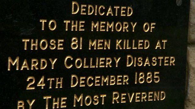 Maerdy mining memorial