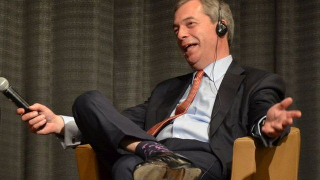 Nigel Farage in Cologne (27 March 2014)