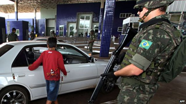 Brazil border operation launched ahead of World Cup