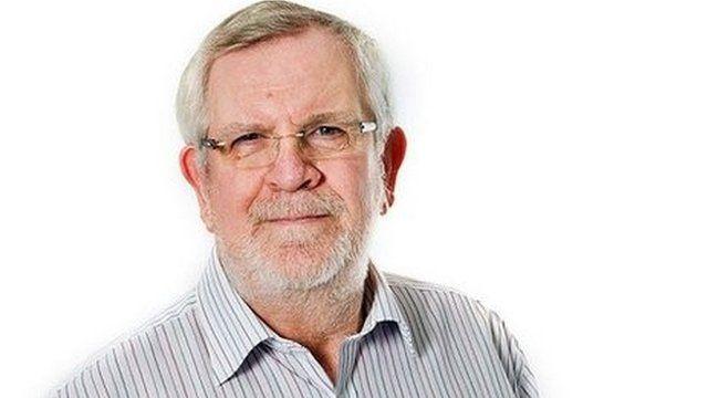 BBC Radio Devon DJ David Lowe, 68
