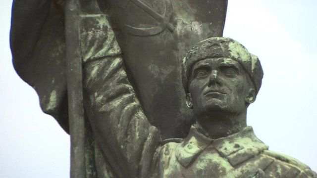 A statue from Hungary's communist era