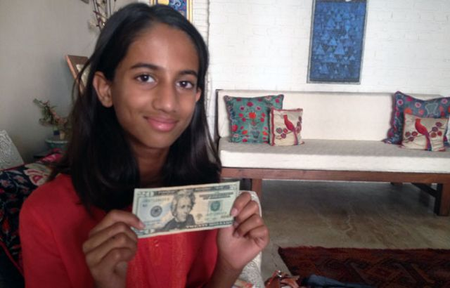 The 10-year-old who offered money to India's central bank