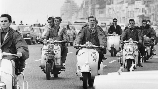 Mods and Rockers: Brighton beach clashes remembered