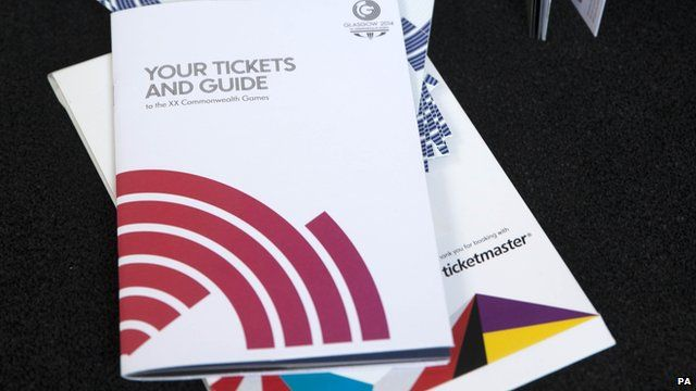 Glasgow 2014 tickets