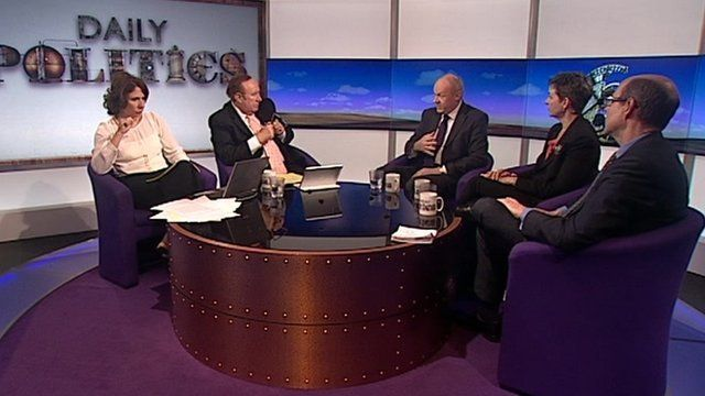 Daily Politics panel reviewing PMQs