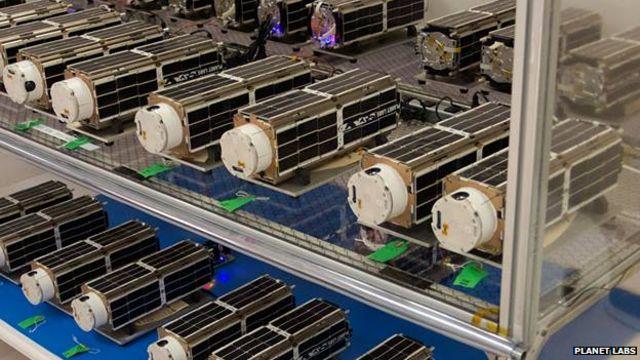 Mini-satellites send high-definition views of Earth