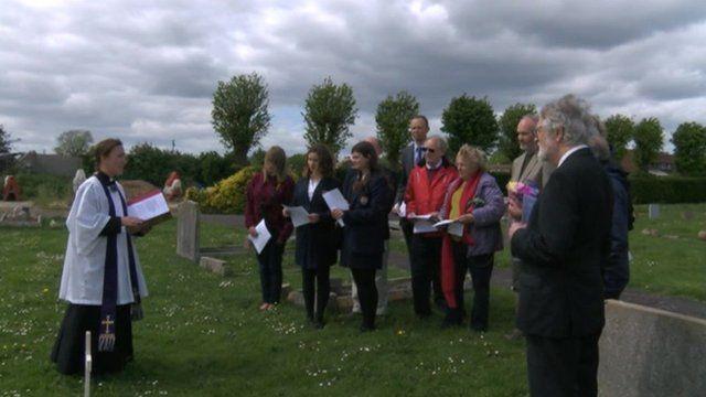 Remembrance service in Chichester