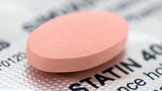 Statin tablet