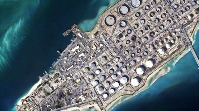 A satellite image from a mini-satellite