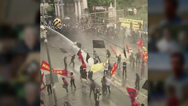 Turkey clashes