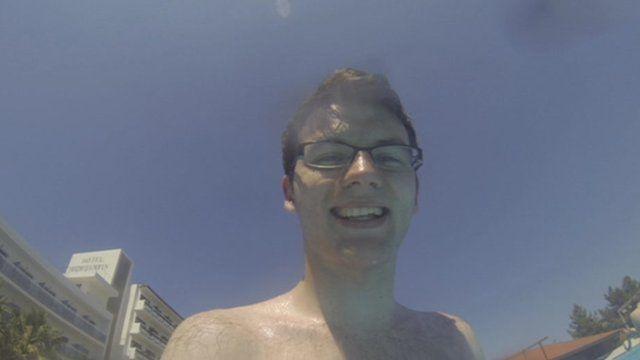 Stephen in Ibiza