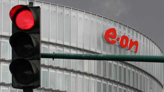 E.On sign