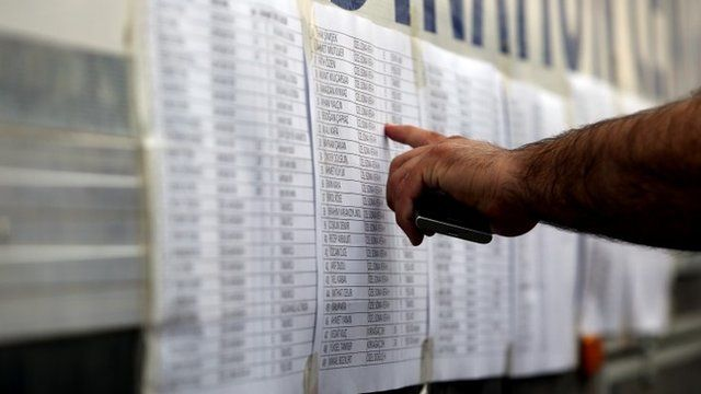 Lists of missing Turkey miners