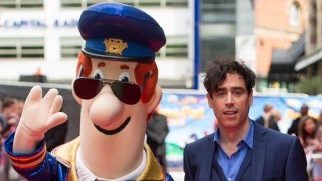 Postman Pat and Stephen Mangan