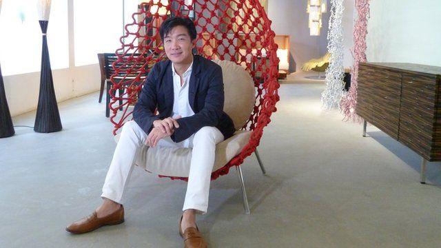 Designer Kenneth Cobonpue
