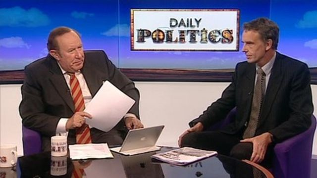Andrew Neil and Sid Cordle