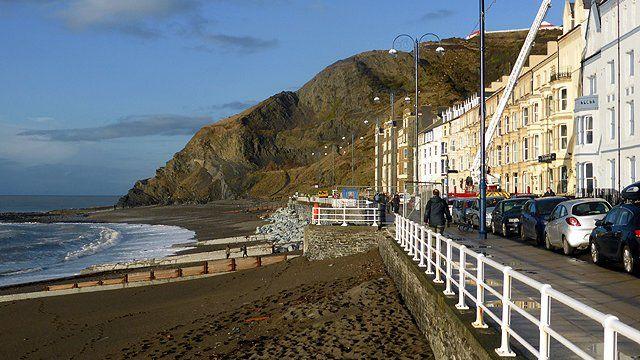 Aberystwyth seafront (Pic: John Lucas)