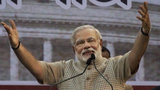 BJP's Narendra Modi