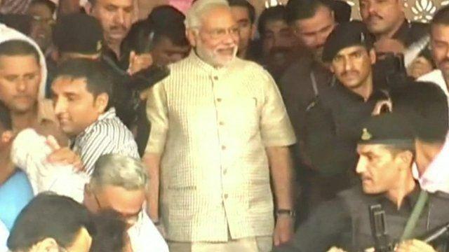 Prime Minister-elect, Narendra Modi