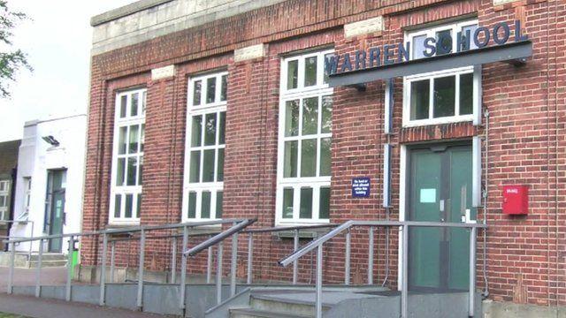 Warren School was placed in special measures in May 2013