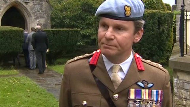Brigadier Neil Sexton, Deputy Commander Army Air Corps