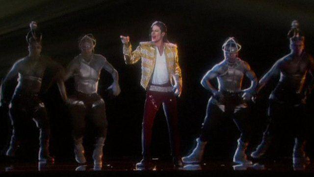 Michael Jackson hologram at US Billboard awards show