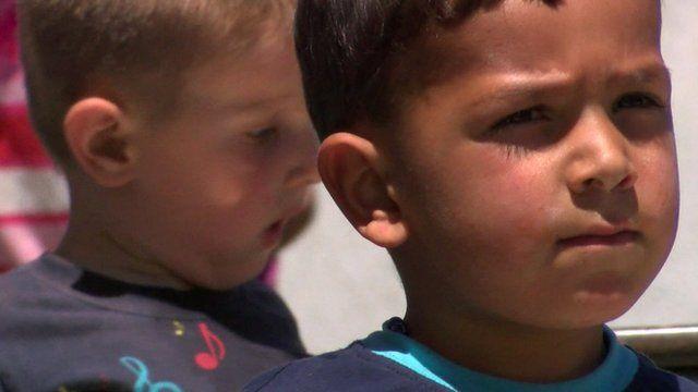 Children left behind after mining deaths