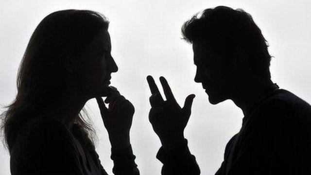 generic picture of arguing parents