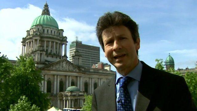 Mark Devenport in Belfast