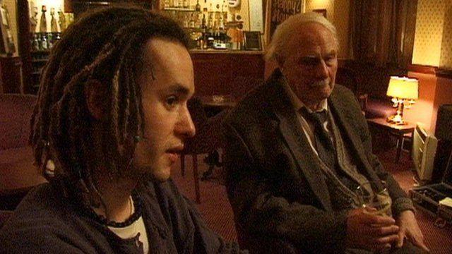 Martyn Bennett and Hamish Henderson
