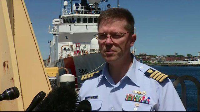 Capt Anthony Popiel US Coast Guard