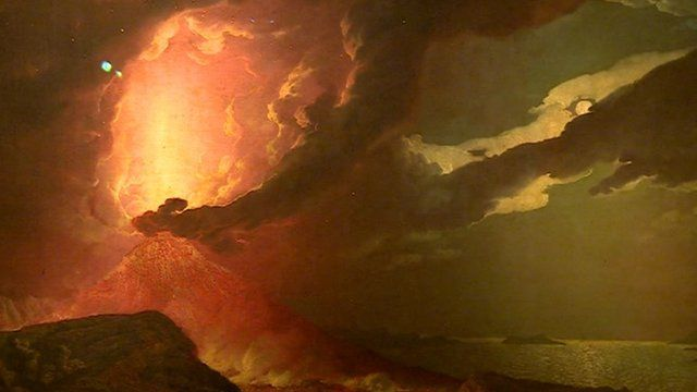 Vesuvius in Eruption by Joseph Wright