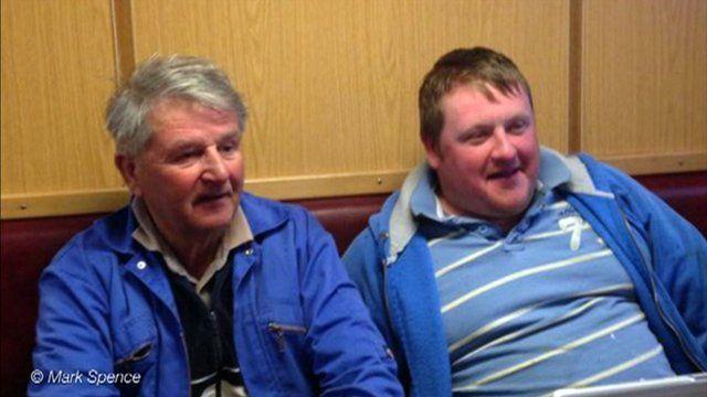 Jim Reid and David Irvine