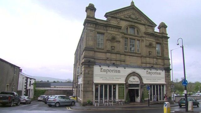 Emporium bar in Clitheroe