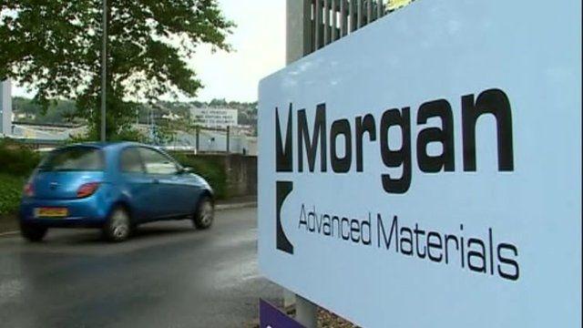 Morgan Advanced Materials sign