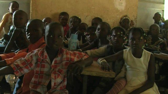 School children in Mali