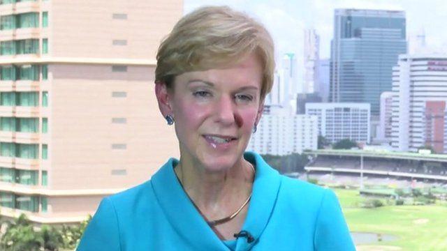 US Ambassador to Thailand, Kristie Kenney