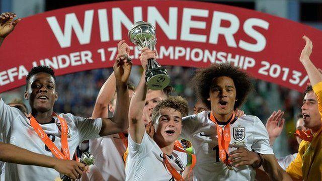 England Under 17's team