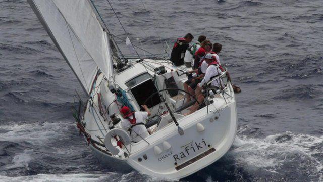 The crew on board Cheeki Rafiki