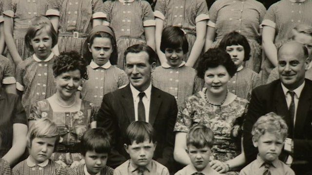 Johnny Johnson in an old school photo